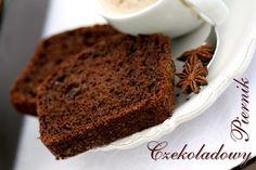 Ciasto piernikowe z czekoladą