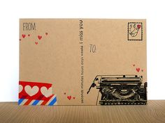 a Post Card | fong crafty place