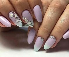 Manicure for a woman in the modern world is an integral part of her life. A real stylish lady will not allow herself to have untouched nails. Spring Nails, Summer Nails, Nailed It, Manicure, Red Nail Designs, Purple Art, Easter Nails, Nail Patterns, Neutral Nails