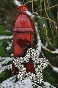 Cute Jingle Bell Star And Lantern....