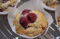 These wholemeal banana and raspberry muffins are a perfect snack! The are perfect for school lunchboxes and to have as a quick snack on the go.