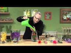 Join J Schwanke... The Flower Expert from uBloom.com and learn how to design Flowers and Create FUN Flower Projects. JTV teaches you Flower Design STEP BY STEP... it's Simple and Easy with J's Awesome Tips, Tricks, Techniques and Secrets... In this Episode:Submerged Flower Centerpieces (These arrangements are my favorites so far! I never would have thought of arranging flowers these ways!)