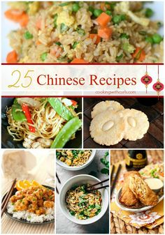 25 Chinese Recipes that are better than takeout and perfect for Chinese New Year!