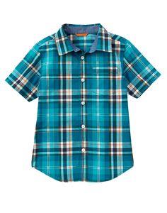 Plaid Shirt (Gymboree 4-10y)