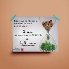 Projet scolaire: proposition d'affiche concernant le tri sélectif pour la communauté de commune de Saumur Saumur, Proposition, School Projects, Event Posters, Paper