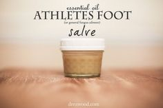 Using Essential Oils with natural butters to create a Athletes Foot Salve that works.