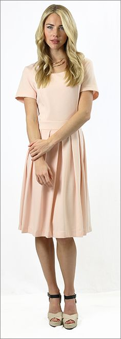 The Harlow Dress in pink : Mikarose Boutique, Reinventing Modesty