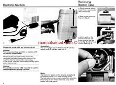 Bernina 801 – 802 – 803 Sport Sewing Machine Instruction Manual.   43 pages of great information.   Oiling instructions and more.   It includes everything you need to know about your machine.