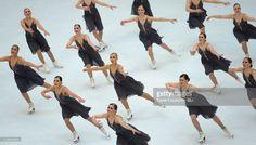 Synchronized skating games, Synchronized