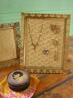 Solid Shell Crochet Jewelry Frame