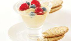 Ricotta au miel et aux petits fruits Ricotta, Pudding, Desserts, Inspiration, Food, Honey, Snacks, Recipes, Biblical Inspiration
