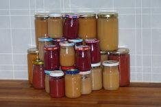 Jitu: Domácí přesnídávka bez cukru česky Hot Sauce Bottles, Baby Food Recipes, Pickles, Sugar Free, Salsa, Smoothie, Food And Drink, Homemade, Canning