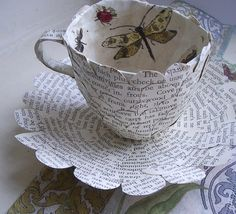 http://folksy.com/items/3053310-Paper-Cup-and-Saucer-with-Butterflies