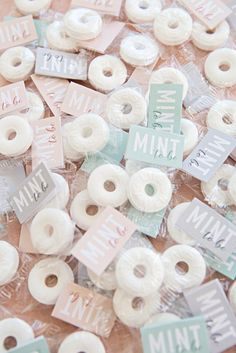 """These DIY """"Mint To Be"""" Wedding Favors Are Beyond Adorable!"""