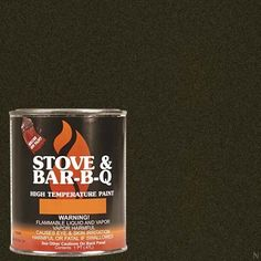 Stove Bright Ti-8146 High Temperature Brush On Paint, 1200 Degree F Operating Temperature Range, 12 Oz Aerosol, Goldenfire Brown, 2015 Amazon Top Rated High Temperature Caulk #BISS