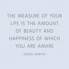 Agnes Martin quote
