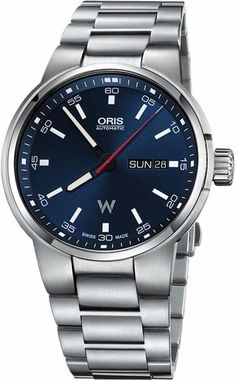 6a670c4e5b9 Oris Williams Day Date 73577404155MB Blue Dial 42mm Steel Case and Bracelet Men s  Watch Stylish Watches