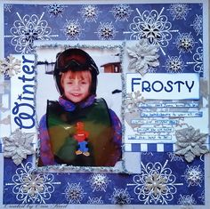 scraps of reflection: Frosty **The Robin's Nest & ULD & Imagination Craf...