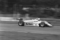 Andrea de Cesaris (ITA) (Marlboro Team Alfa Romeo), Alfa Romeo 182 - Alfa Romeo 1260 3.0 V12 (RET)  1982 Belgian Grand Prix, Circuit Zolder  © Cor van Veen | Source: Flickr
