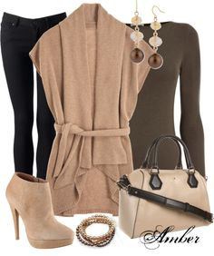 """""""Cashmere Shawl Collar Cardi"""" by stay-at-home-mom on Polyvore"""