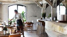 Snøhetta overhauls former Noma space for new casual Copenhagen restaurant Restaurant Noma, Luxury Restaurant, Restaurant Lounge, Restaurant Concept, Restaurant Design, Restaurant Interiors, Schmidt, Noma Bar, Copenhagen Travel