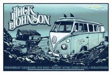 JACK JOHNSON - 2010 - IN BETWEEN DREAMS - MELBOURNE -  TOUR POSTER -