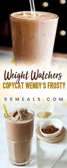 Weight Watchers Copycat Wendy's Frosty Recipe - 3 POINTS!!