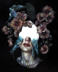 Marco Mazzoni - Colour pencil drawings