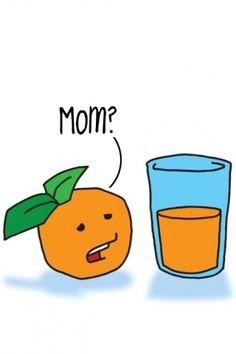 Poor Orange, haha