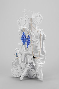 Stacked Bicycle Jewelry Stand #urbanoutfitters