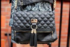 Gorgeous Black ( Leather Jackets & Graphic Dresses )