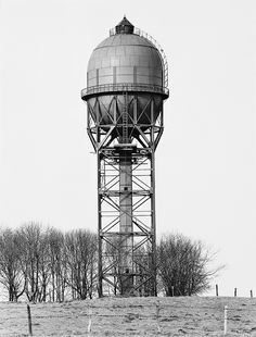 Water Tower, Dortmund-Grevel, Germany 1965/printed 1993 Bernd and Hilla Becher German, born 1931 and 1934 Gelatin silver print, edition 1/5 24 x 20 inches Modern Art Museum of Fort Worth