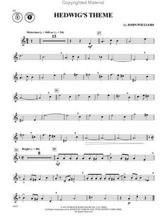 Hedwig's Theme for Clarinet #Winning This will be my test piece for band!!!!!          Cool