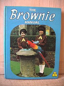 The Brownie Annual. Girl Guides. 1971.