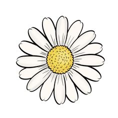 Adult Coloring Pages Sunflower from Printable Sunflower Coloring Pages. This funny sunflower shines all over your face. What she is missing now are bright colors. But you can certainly help her with that. Just print out th. Sunflower Coloring Pages, Sunflower Drawing, Fall Coloring Pages, Adult Coloring Pages, Coloring Books, Easy Drawings, Tattoo Drawings, Tattoos, Flower Doodles