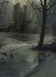 Frozen Swamp by Sean Yang
