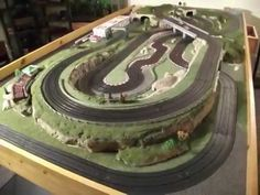 Slot car track (still under construction)