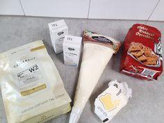 Witte chocolade cheesecake met speculaas ingrediënten