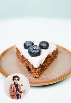 Amaranth Polenta Kuchen mit Kokoscreme | Davert GmbH - Naturkost