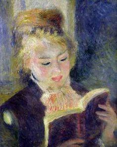 Pierre-Auguste Renoir - Girl Reading