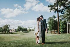 CHRIS AND KRISTIN | BRIER CREEK COUNTRY CLUB WEDDING Autumn Harrison Photography
