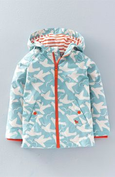 Mini Boden Water-Resistant Hooded Anorak (Toddler Girls, Little Girls & Big Girls)
