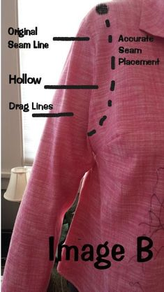 Sleeve fitting - Designer Joi - Perfect Fit Blog - Real Life Fitting