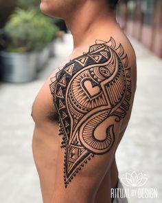 daa05fa56 Men Henna Tattoo, Henna Men, Tribal Henna, Henna Body Art, Henna Tattoo  Designs, Henna Designs For Men, Beautiful Henna Designs, Mehndi Designs,  Henna For ...