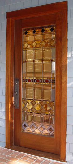 Couldnu0027t decide doors doors doors or doors 2 . Stunning Stained Glass & I found this door and was struck by its simplicity AND its intricacy ...