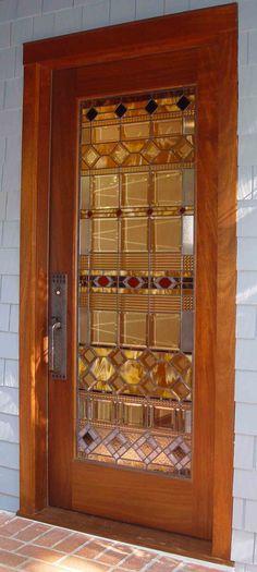 Couldn't decide   doors, doors, doors or  doors 2 .  Stunning Stained Glass Door