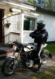 Yamaha tr1 xv 1000 cafe racer