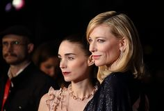carol...the movie by these two amazing actresses Cate Blanchett and Rooney Mara..i hope i get to watch this