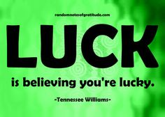 Lucky Tennessee Williams