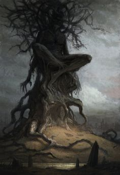 ArtStation - The Blinded Forest, Artem Demura Monster Art, Fantasy Monster, Dark Fantasy Art, Arte Horror, Horror Art, Dungeons And Dragons, Art Sinistre, La Danse Macabre, The Ancient Magus